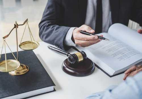 Lawyer Reviewing Information About Property Disputes in Monmouth IL