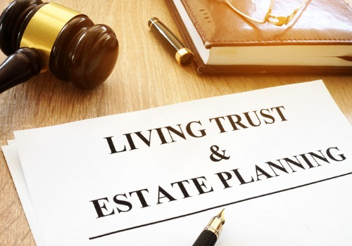 A copy of a living trust, as a part of Estate Planning in Monmouth IL