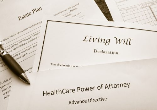 Paper work for estate planning, a will and power of attorney for general Estate Planning in Galesburg IL